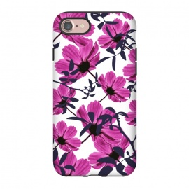 iPhone 8/7  Floral Explorers  (White)  by Zala Farah