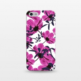 iPhone 5/5E/5s  Floral Explorers  (White)  by Zala Farah