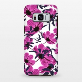 Galaxy S8 plus  Floral Explorers  (White)  by