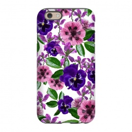 iPhone 6/6s  White Floral Garden by Zala Farah