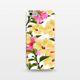 iPhone 5/5E/5s  Lush Hibiscus by Zala Farah