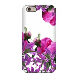 iPhone 6/6s  Hiding Pink Flowers by Zala Farah