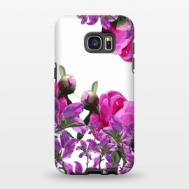 Galaxy S7 EDGE  Hiding Pink Flowers by Zala Farah