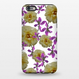 iPhone 6/6s plus  Flowers + Purple Vines by Zala Farah