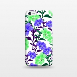 iPhone 5C  Neon Flowers by Zala Farah