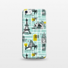 iPhone 5C  Globetrotter by Heather Dutton