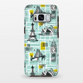 Galaxy S8+  Globetrotter by Heather Dutton