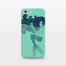 iPhone 5/5E/5s  Mermaid Night green by Coffee Man
