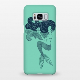 Galaxy S8+  Mermaid Night green by Coffee Man