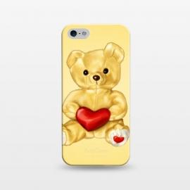 iPhone 5/5E/5s  Cute Teddy Bear Hypnotist With Heart by
