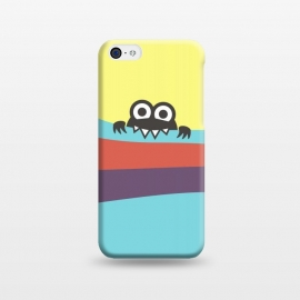 iPhone 5C  Cute Bug Bites Yummy Colorful Stripes by Boriana Giormova
