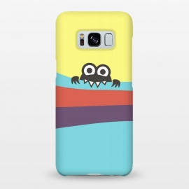 Galaxy S8+  Cute Bug Bites Yummy Colorful Stripes by Boriana Giormova