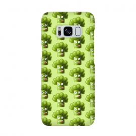 Funny Broccoli Pattern by Boriana Giormova (broccoli ,vegetable,vegetables,green,funny broccoli,cartoon,cartoon broccoli,broccoli pattern,pattern,cute broccoli,food,vegan,vegetarian,funny vegetable,plant,diet,fresh,healthy,healthy eating,raw,dieting)
