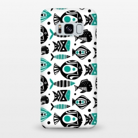 Galaxy S8+  Deep Sea White by Heather Dutton