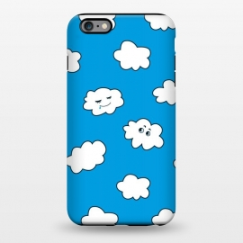iPhone 6/6s plus  Funny Cartoon Clouds by Boriana Giormova