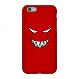 iPhone 6/6s  Evil Grinning Face by Boriana Giormova