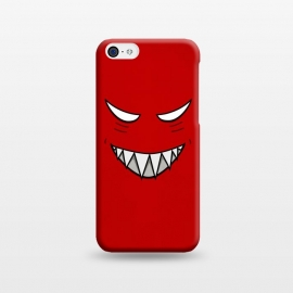 iPhone 5C  Evil Grinning Face by Boriana Giormova
