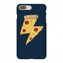 iPhone 8/7 plus  Pizza Power by Coffee Man (pizza,power, ray,lighting,pepperone,fast food, food, cheese,melted,geek,restaurant, urbarn)