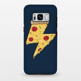 Galaxy S8 plus  Pizza Power by  (pizza,power, ray,lighting,pepperone,fast food, food, cheese,melted,geek,restaurant, urbarn)