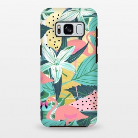 Galaxy S8+  Flamingo Tropical by Uma Prabhakar Gokhale
