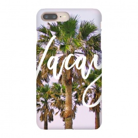 Vacay by Uma Prabhakar Gokhale (digital manipulation, color, coconut trees, palm, palms, palm trees, vacation, travel, nature, beach, california, typography, vacay, exotic, tropical)