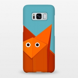 Galaxy S8+  Cute Origami Fox by Boriana Giormova