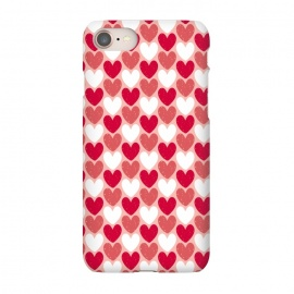 iPhone 8/7  Red Hearts by Kimrhi Studios
