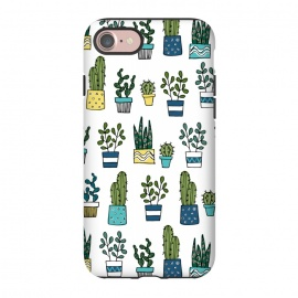 iPhone 8/7  House Plants by Laura Grant (cacti,cactus,plant)