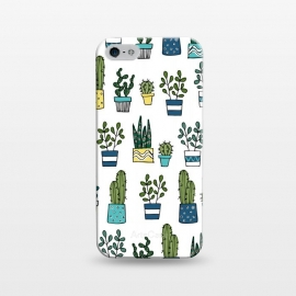 iPhone 5/5E/5s  House Plants by Laura Grant (cacti,cactus,plant)