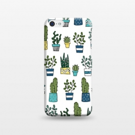 iPhone 5C  House Plants by Laura Grant (cacti,cactus,plant)