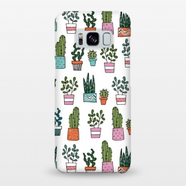 Galaxy S8+  cacti in pots 2 by Laura Grant
