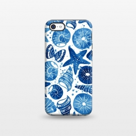 iPhone 5C  sea shells by Laura Grant