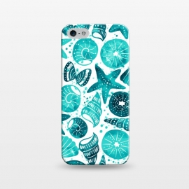 iPhone 5/5E/5s  sea shells 2 by Laura Grant (sea shell,shell,beach,summer,ocean)