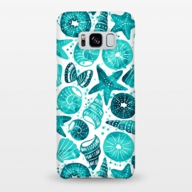 Galaxy S8+  sea shells 2 by Laura Grant (sea shell,shell,beach,summer,ocean)