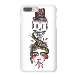 iPhone 8/7 plus  Skull dagger snake by  (skull ,dagger,snake,girl,tattoo)