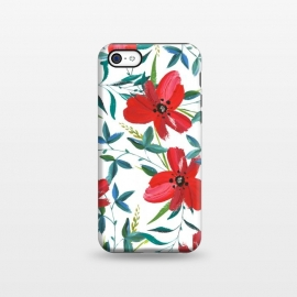 iPhone 5C  Red Blossom by Uma Prabhakar Gokhale