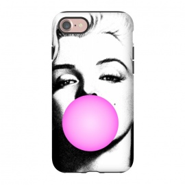 iPhone 8/7  Marilyn Chewing Gum Bubble by Mitxel Gonzalez (marilyn,art pop,art,trending,monroe,actress,movie star)