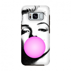 Marilyn Chewing Gum Bubble by Mitxel Gonzalez (marilyn,art pop,art,trending,monroe,actress,movie star)