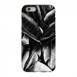 iPhone 6/6s  Dark Leaves by Caitlin Workman