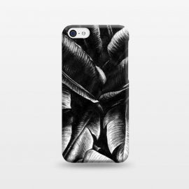 iPhone 5C  Dark Leaves by Caitlin Workman