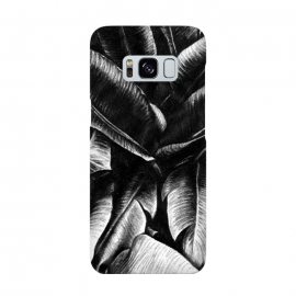 Galaxy S8  Dark Leaves by Caitlin Workman