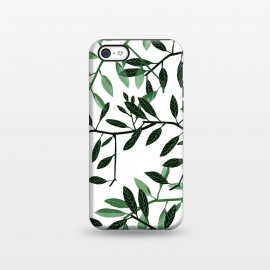 iPhone 5C  Botanical Leaves by Allgirls