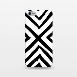iPhone 5/5E/5s  Angled Stripes by Caitlin Workman