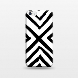 iPhone 5C  Angled Stripes by Caitlin Workman