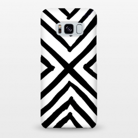 Galaxy S8+  Angled Stripes by Caitlin Workman