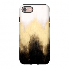iPhone 8/7  Metallic Abstract by Caitlin Workman (Painting, Metallic,Abstract, fashion, style, modern, bold, minimal)