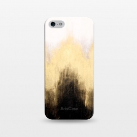 iPhone 5/5E/5s  Metallic Abstract by Caitlin Workman