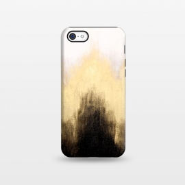 iPhone 5C  Metallic Abstract by Caitlin Workman
