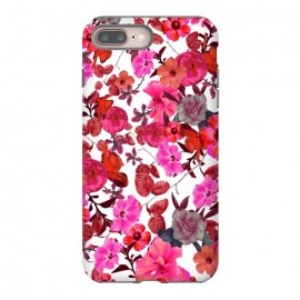 iPhone 8/7 plus  Zariya Flower Garden (Pink) by Zala Farah