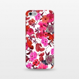iPhone 5/5E/5s  Zariya Flower Garden (Pink) by Zala Farah